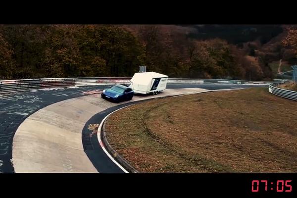 Record insolite pour Porsche sur le Nürburgring