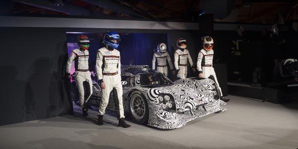 Porsche présente son programme 2014