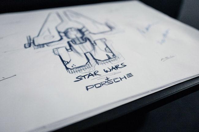 Les designers de Porsche impliqués dans le nouveau Star Wars