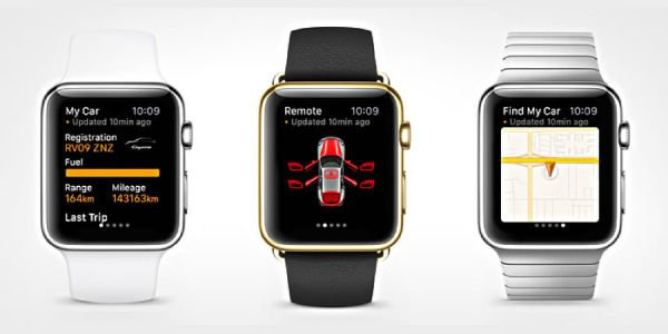 Le Porsche Car Connect arrive sur l'Apple Watch