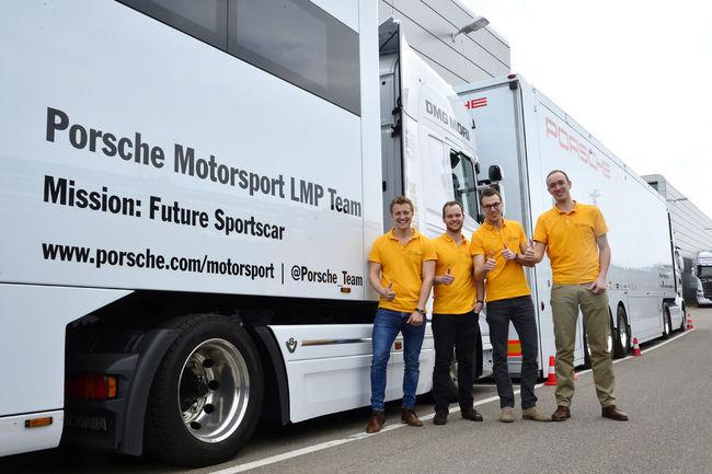 Porsche partenaire d'un projet de voiture de course solaire