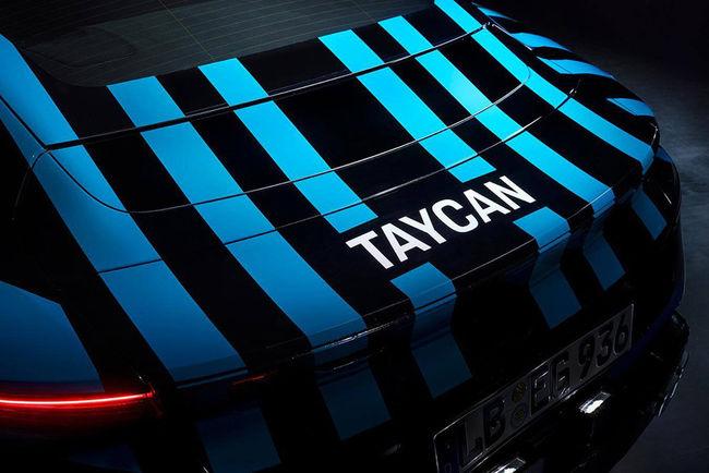 Porsche Taycan : nouveaux teasers