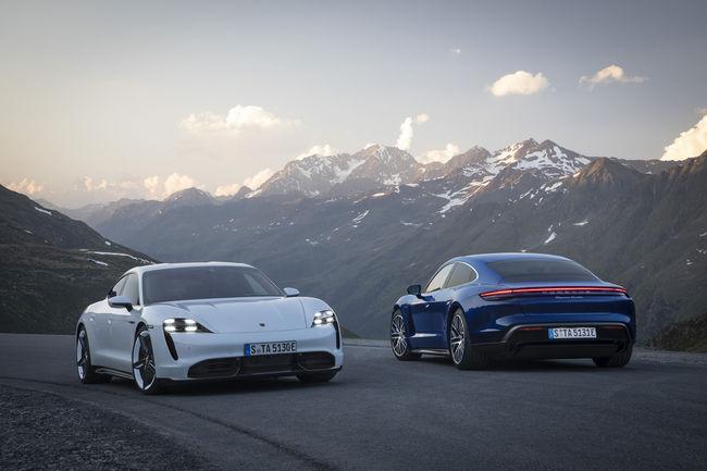 Nouvelles Porsche Taycan Turbo et Turbo S : jusqu'à 761 ch