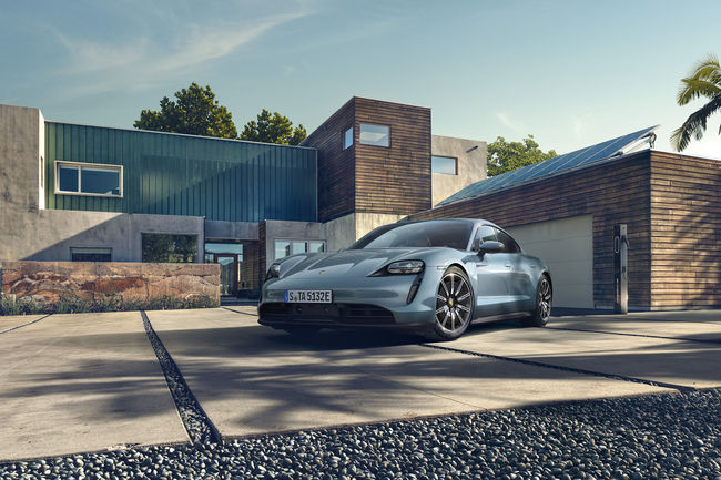 Nouvelle Porsche Taycan 4S