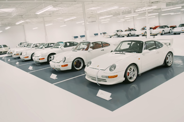 Le Porsche Club of America présente The White Collection