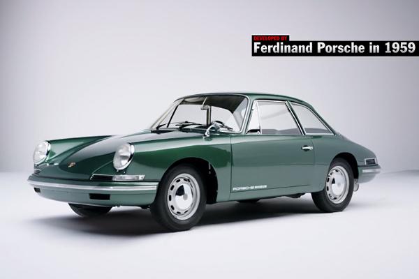 Porsche Top 5 : le meilleur des concept-cars
