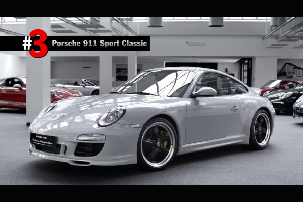 Porsche : le Top 5 des créations Porsche Exclusive