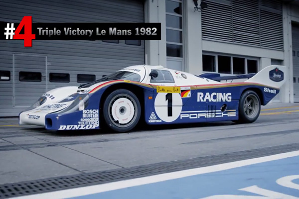 Porsche Top 5 : les plus belles réussites en piste
