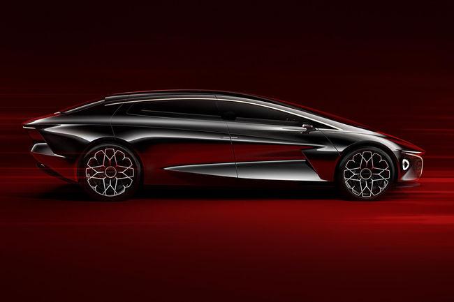 Premier teaser pour le futur SUV de Lagonda