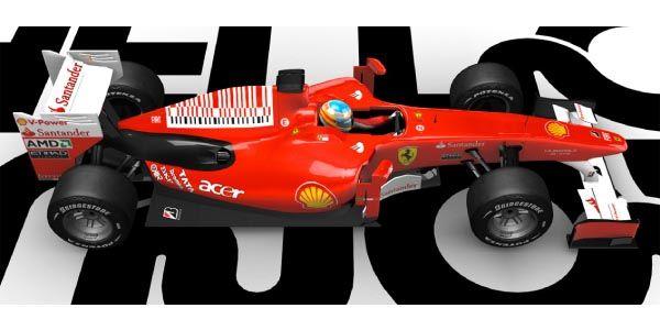 Prenez les commandes d'une Ferrari F10