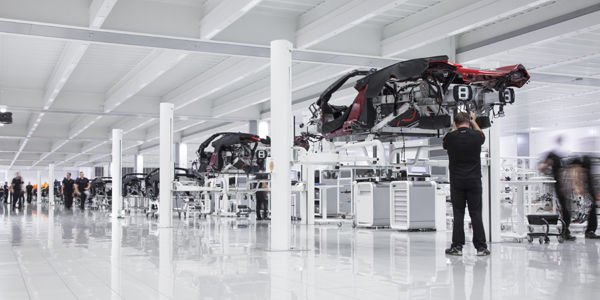 Progression record pour McLaren Automotive