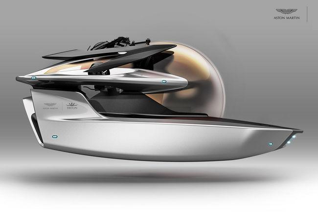 Project Neptune : le sous-marin signé Aston Martin