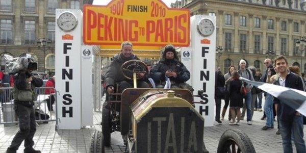 Le Rallye Pékin- Paris 2010