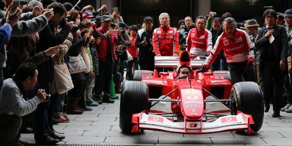 Ferrari fait vibrer Osaka