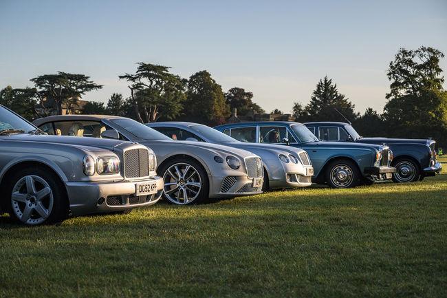 Rassemblement record pour le centenaire de Bentley