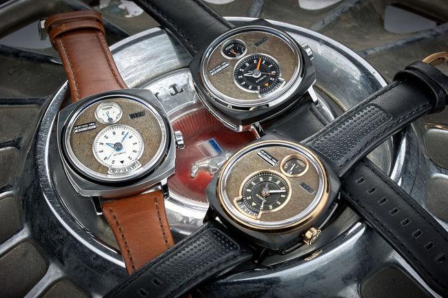 REC P-51 : la montre conçue avec des pièces de Mustang