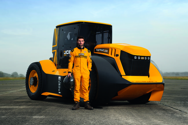 Record insolite : 246 km/h en tracteur