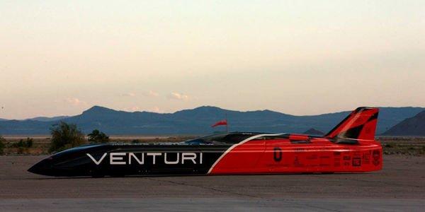 Nouveau record de vitesse pour Venturi
