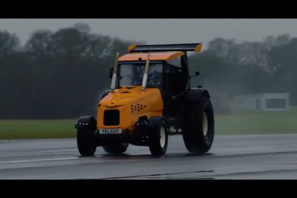 Record de vitesse insolite pour The Stig