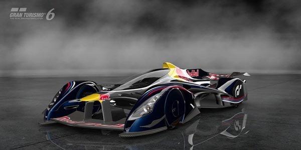 La Red Bull X2014 pour Gran Turismo 6