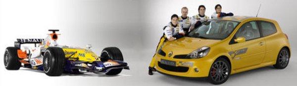 Clio F1 Team R27 : peintures de guerre