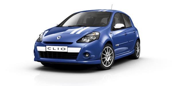 Renault Clio dCi Gordini, running gag