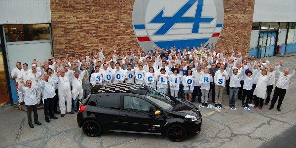 Clio RS : déjà 30 000 unités produites !