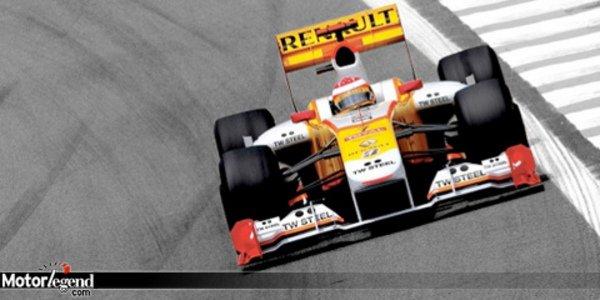 F1 : Renault  a un nouveau sponsor