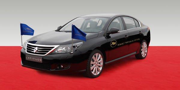 Des stars en Renault Latitude