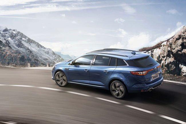 La nouvelle Renault Megane Estate GT présentée à Genève