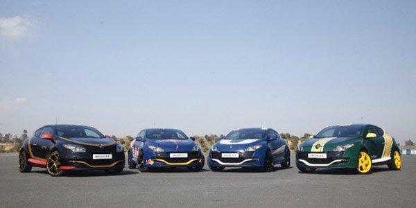 La Renault Megane RS rend hommage à la F1