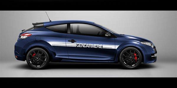 La Mégane RS Gendarmerie vendue au Japon