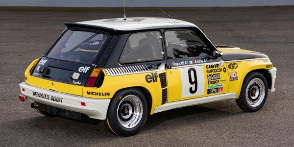Renault Classic au Monte-Carlo historique