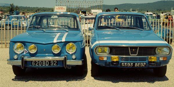 Renault fête sa R8 Gordini à Lohéac