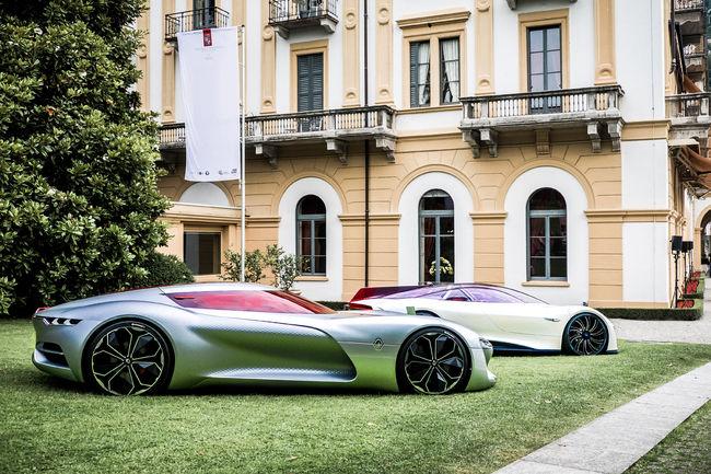 Le concept Renault TreZor primé à la Villa d'Este