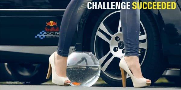 Un poisson rouge sur le Nürburgring