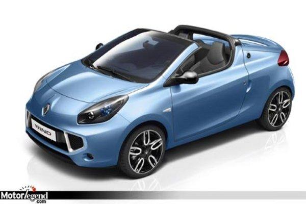 renault wind la twingo coup cabriolet actualit automobile motorlegend. Black Bedroom Furniture Sets. Home Design Ideas