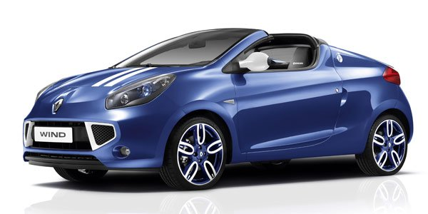 Renault Wind Gordini : « i'm blue »