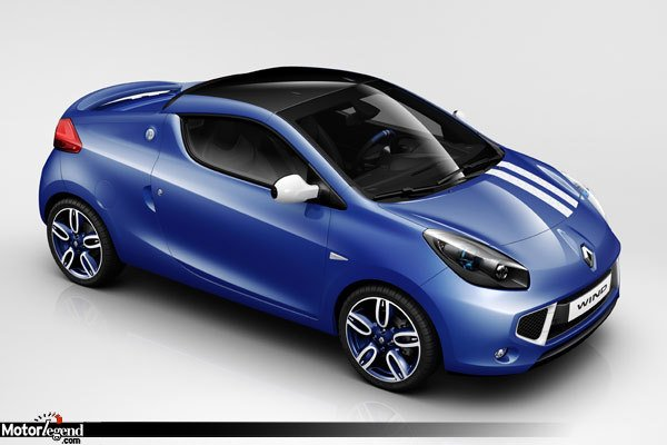 renault wind gordini i 39 m blue actualit automobile motorlegend. Black Bedroom Furniture Sets. Home Design Ideas