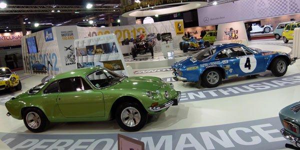 Rétromobile 2012, bilan positif