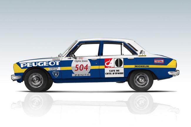 Rétromobile : Peugeot mise sur le chiffre 3