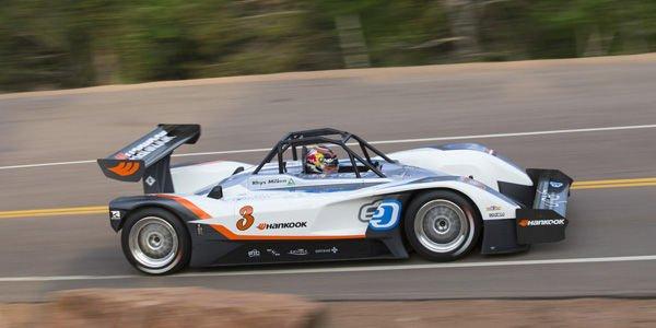 Rhys Millen impose une voiture électrique à Pikes Peak