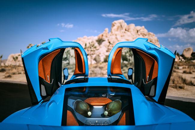 La Rimac C_Two California Edition présentée aux USA