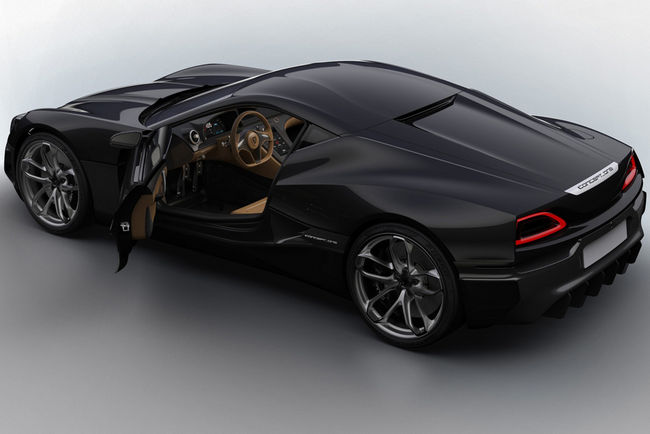 Rimac booste les performances de sa Concept One