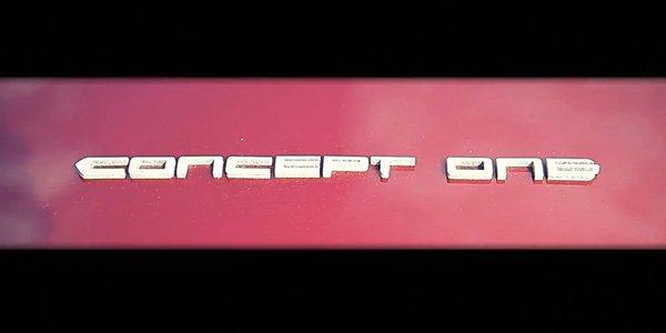 Rimac tease la Concept One