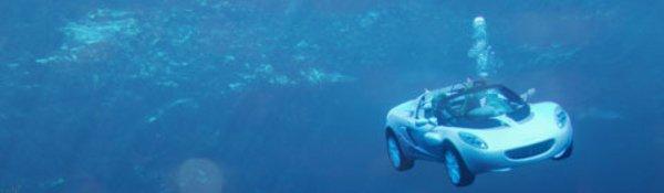 La Rinspeed sQuba en vidéo sous l'eau !