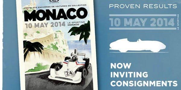 RM Auctions à Monaco le 10 mai 2014