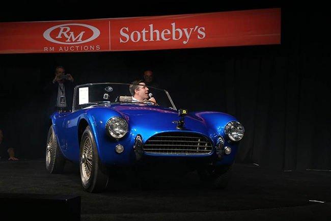 Vente record pour RM Sotheby's à Monterey