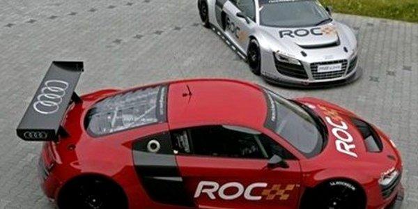 ROC  avec l'Audi R8 LMS
