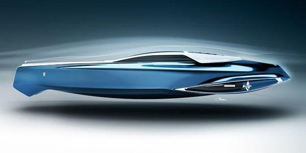 Rolls-Royce 450EX : yacht de luxe